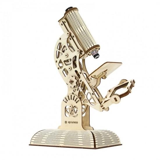 """Model mecanic """"Microscop"""" din lemn Jocuri"""