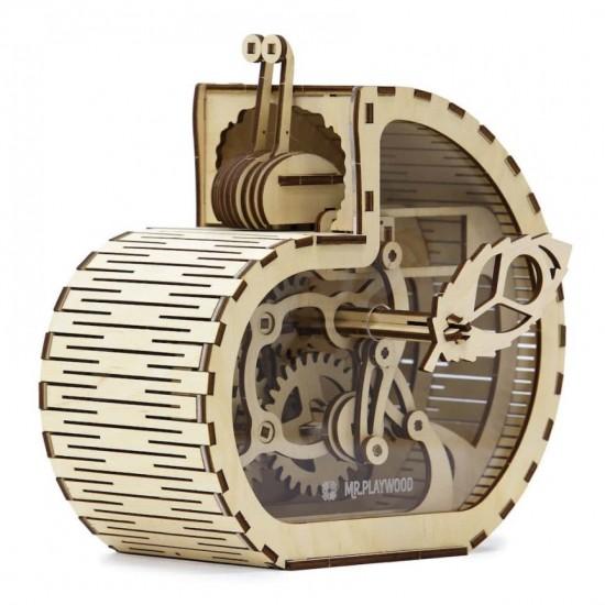 """Model mecanic """"Melcul - Casa de bani"""" din lemn Jocuri"""