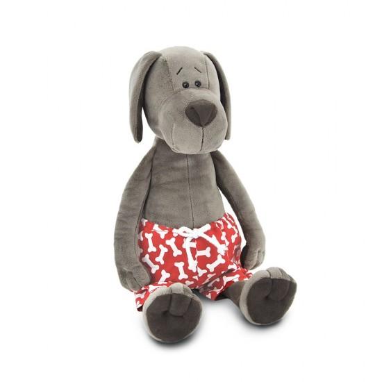 Jucarie catelul de plus cu pantaloni Cookie, 25cm, Orange Toys Jucarii Plus