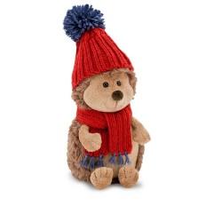 Jucarie ariciul de plus cu caciula rosie Prickle, 15cm, Orange Toys