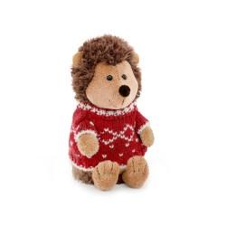 Jucarie ariciul de plus cu pulover rosu Prickle, 20cm, Orange Toys