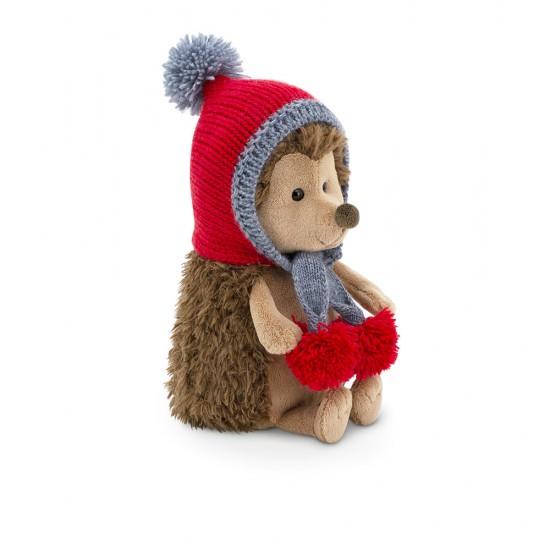 Fluffy, ariciul cu fes rosu, din plus, 20cm, Orange Toys