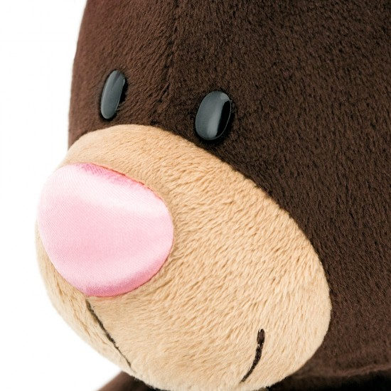 Jucarie urs de plus cu rochita cu buline Milk, 30cm, Orange Toys Jucarii Plus