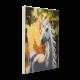 Set creativ tablou cu cristale, Sunshine Unicorn  30x30cm, Craft Buddy