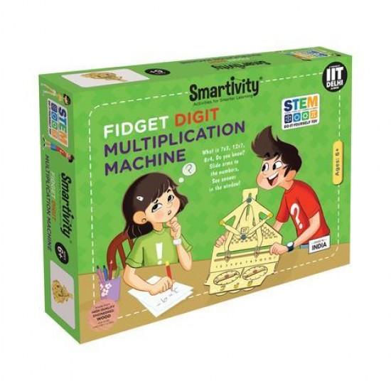 Masina pentru invatat Tabla Inmultirii, Smartivity Jocuri