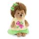 Fluffy, ariciul in rochita cu libelula , din plus, 15cm, Orange Toys