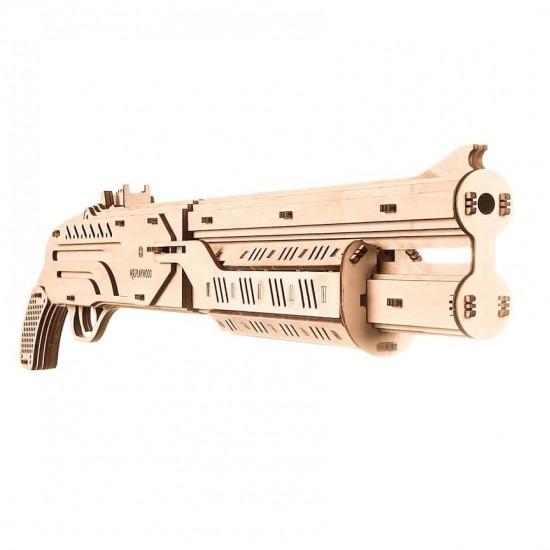 """Model mecanic """"Pusca"""" din lemn Jocuri"""
