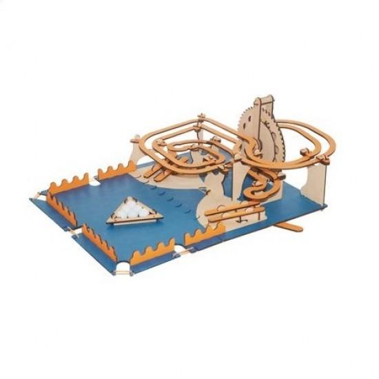 Circuit roller-coaster cu bilute de marmura, Smartivity Jocuri