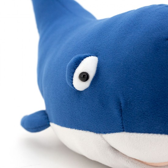 Balena din plus, 77cm, colectia Ocean, Orange Toys