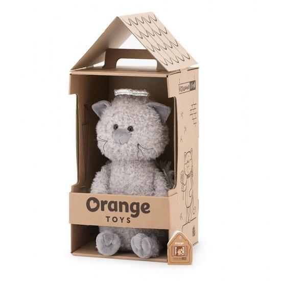 Jucarie motanul de plus ingeras Buddy, 25cm, Orange Toys Jucarii Plus