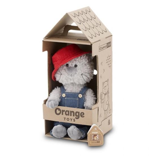 Jucarie motanul hoinar de plus Buddy, 25cm, Orange Toys Jucarii Plus