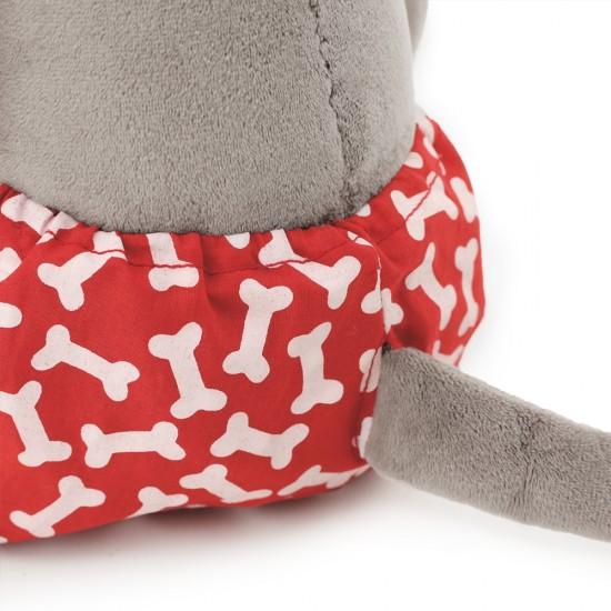 Jucarie catelul de plus cu pantaloni Cookie, 20cm, Orange Toys Jucarii Plus