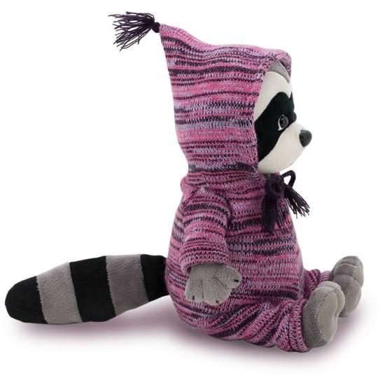 Jucarie fetita raton sezonul de tricotat de plus Daisy, 25cm, Orange Toys Jucarii Plus