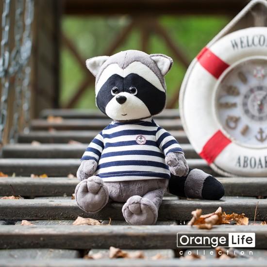 Jucarie ratonul de plus marinar Denny, 20cm, Orange Toys Jucarii Plus