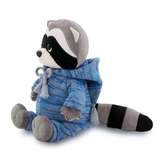 Jucarie Denny sezonul de tricotat de plus Ratonul Denny: sezonul de tricotat, 25cm, Orange Toys Jucarii Plus
