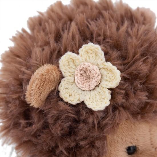 Jucarie ariciul cu pulover de plus Fluffy, 20cm, Orange Toys Jucarii Plus