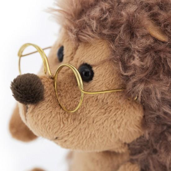 Jucarie ariciul cu ochelari de plus Prickle, 20cm, Orange Toys Jucarii Plus