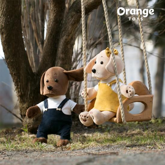 Bossy, catelusa pui, din plus, 20cm, Orange Toys