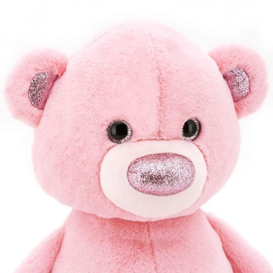 Ursuletul pufos roz, 22cm, Orange Toys