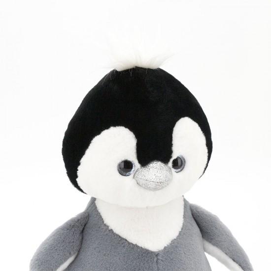 Pinguinul pufos gri, 22cm, Orange Toys