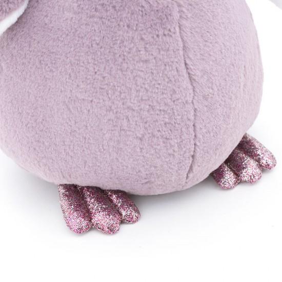 Pinguinul pufos violet, 35cm, Orange Toys