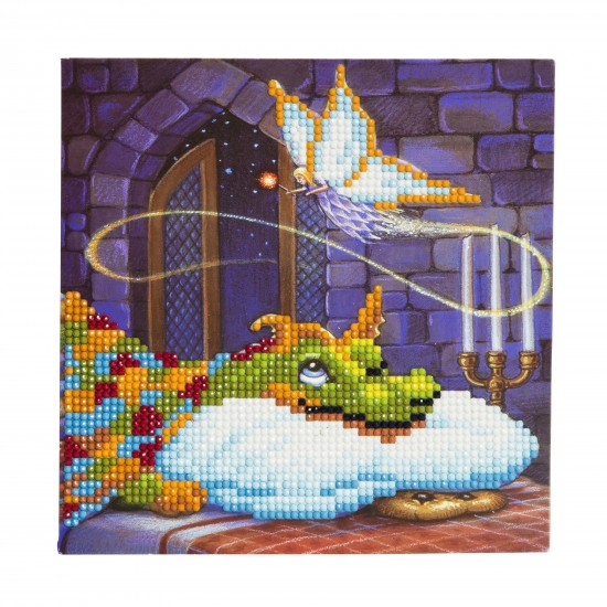 Set creativ tablou cu cristale  Dragon 18x18cm, Craft Buddy Art & Craft