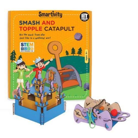 Joc Catapulta - ataca si cucereste cetatea, Smartivity Jocuri