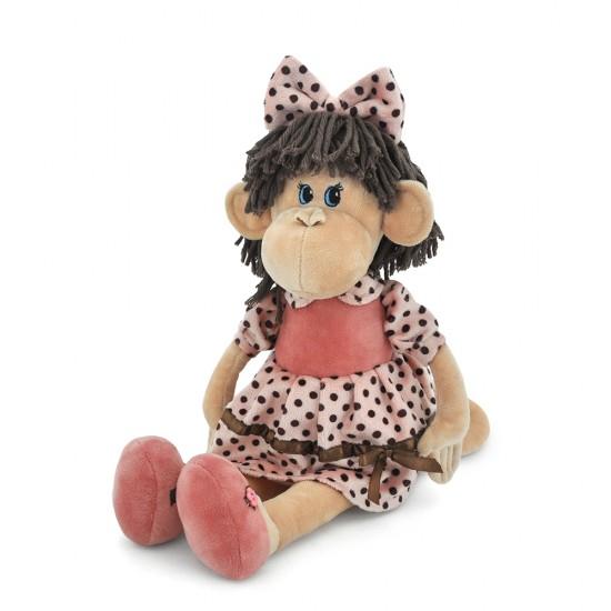 Jucarie maimutica de plus Lulu, 25cm, Orange Toys Jucarii Plus