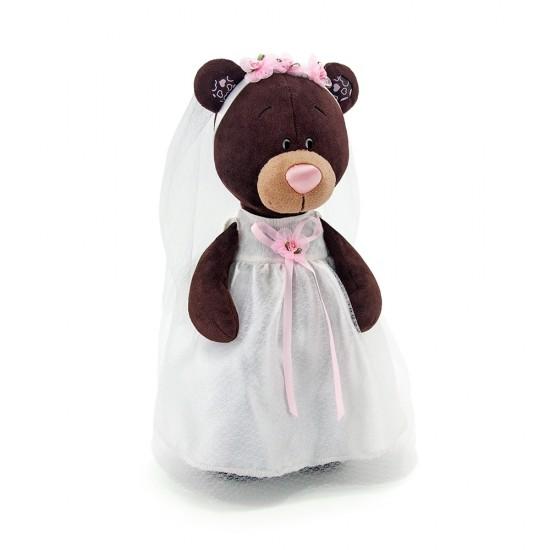 Jucarie urs de plus miresica Milk, 30cm, Orange Toys Jucarii Plus