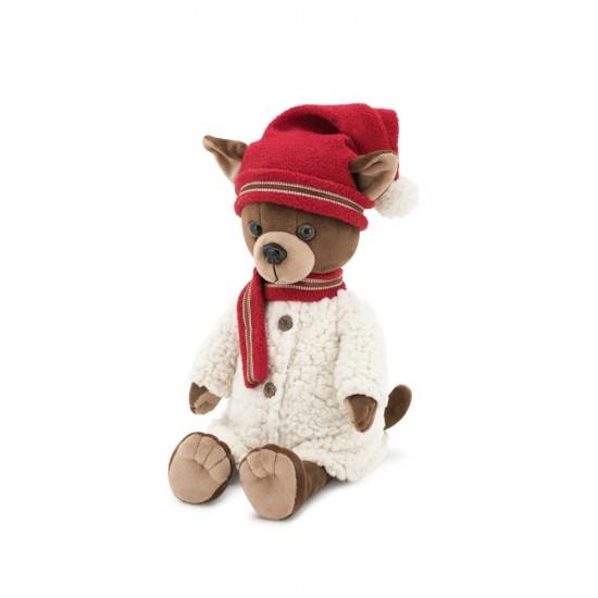 Jucarie catelusa de plus Lucky Kiki: Winter Fable, 25cm, Orange Toys Jucarii Plus