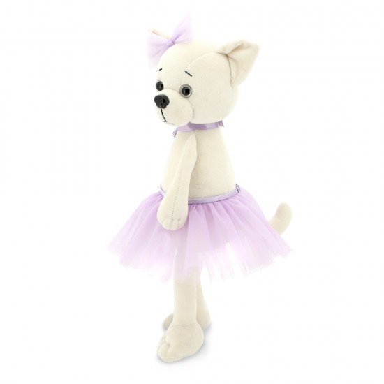 Jucarie catelusa de plus Lucky Lili: Violet, 25cm, Orange Toys Jucarii Plus