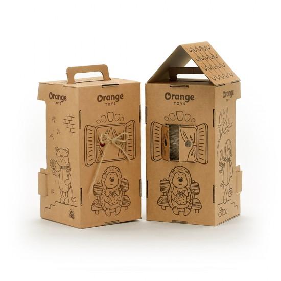 Jucarie ratonul de plus navigator Denny, 20cm, Orange Toys Jucarii Plus