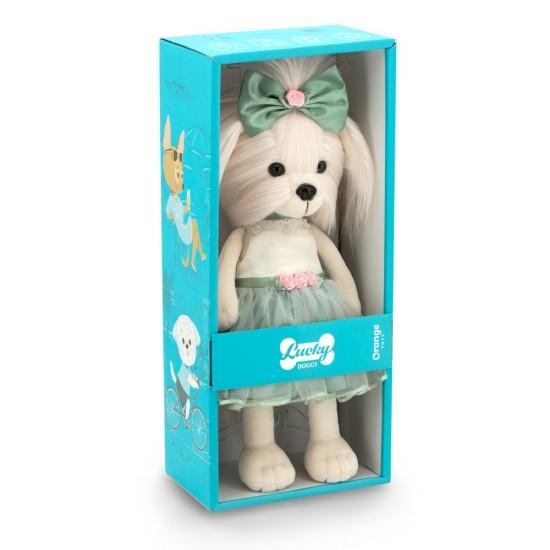 Jucarie catelusa de plus Lucky Mimi: Rose Bud, 25cm, Orange Toys Jucarii Plus