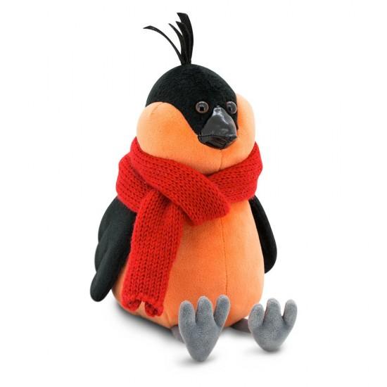 Jucarie cintezoiul cu fular rosu de plus Bob, 20cm, Orange Toys Jucarii Plus