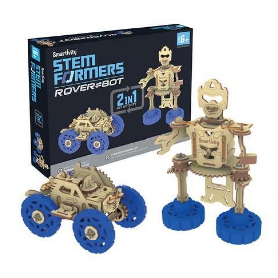 Joc Rover-Bot – robot si masina de teren STEMFORMERS, Smartivity Jocuri