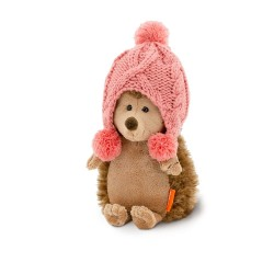 Jucarie ariciul de plus in costum de iarna Fluffy, 20cm, Orange Toys