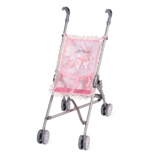 Mini carucior sport roz ,42x28x56, De Cuevas Accesorii Papusi