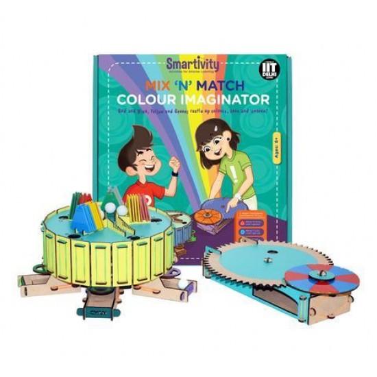 Generatorul de culori – amesteca si potriveste culorile, Smartivity Jocuri